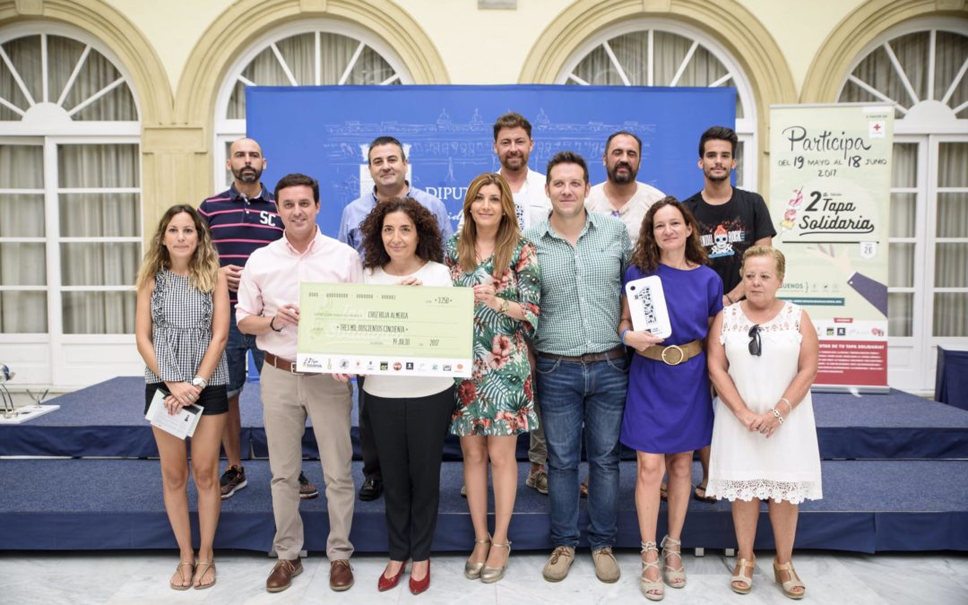 Entregamos cheque solidario a Cruz Roja y los premios II Edicion