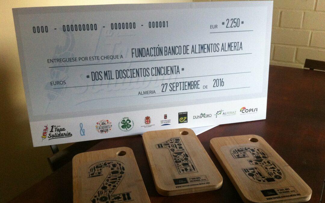 I EDICIÓN – Tapa Solidaria Almeria –