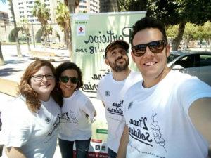 equipo-tapa-solidaria-almeria-carrera-xv-popular-cruz-roja-almeria-loscazadores-de-sonrisas