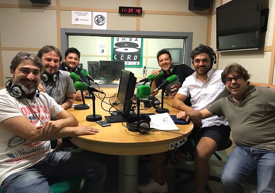 """Entrevista Onda Cero Radio""""Una mesa MUY especial"""""""