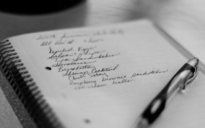 Cómo organizar la lista de la compra