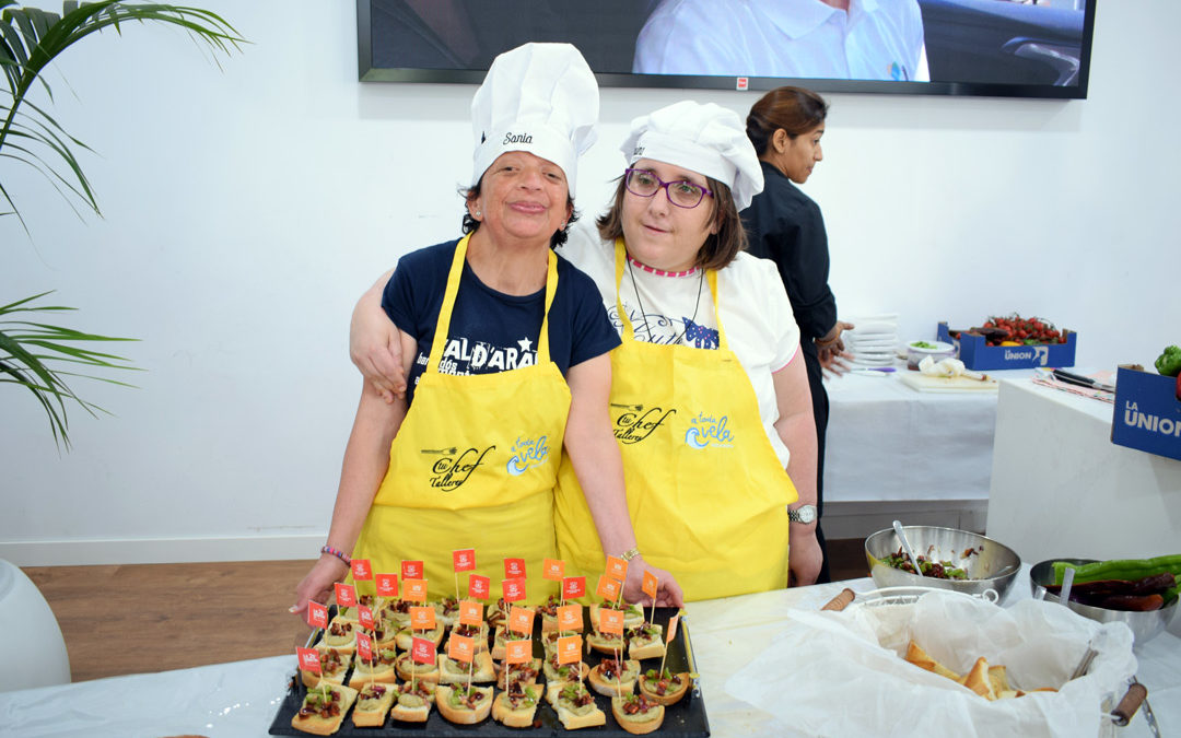 Showcooking con Mucho Talento