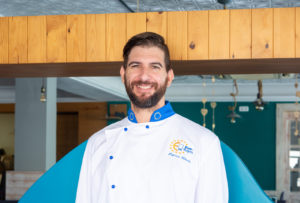 patricio chef del restaurante blanca brisa