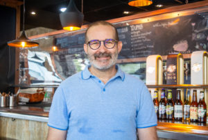 Luis Marquez, Gerente y Chef en la Orza, cocina de abuela