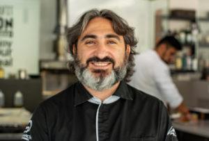 TONY GARCIA chef y gerente del espacio gastronómico