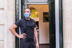 Alex chef de Rotterdam Tap Room – tapa solidaria 2020