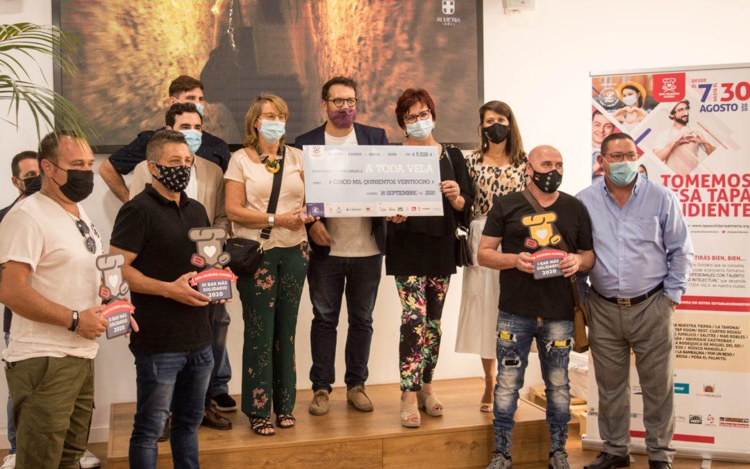 Récord histórico en la V Ruta de Tapa Solidaria Almería